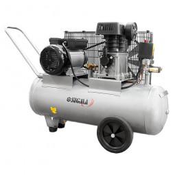Компрессор двухцилиндровый ременной Sigma 2.5кВт 335л/мин