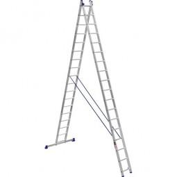 Лестница 2-х секционная Stark SVHR2x17 Pro (525217412)