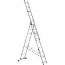 Лестница 3-х секционная Stark SVHR3x9 (525380504)
