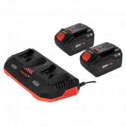 2 Аккумуляторные батареи Dnipro-M BP-260 + Зарядное устройство FC-230 Dual